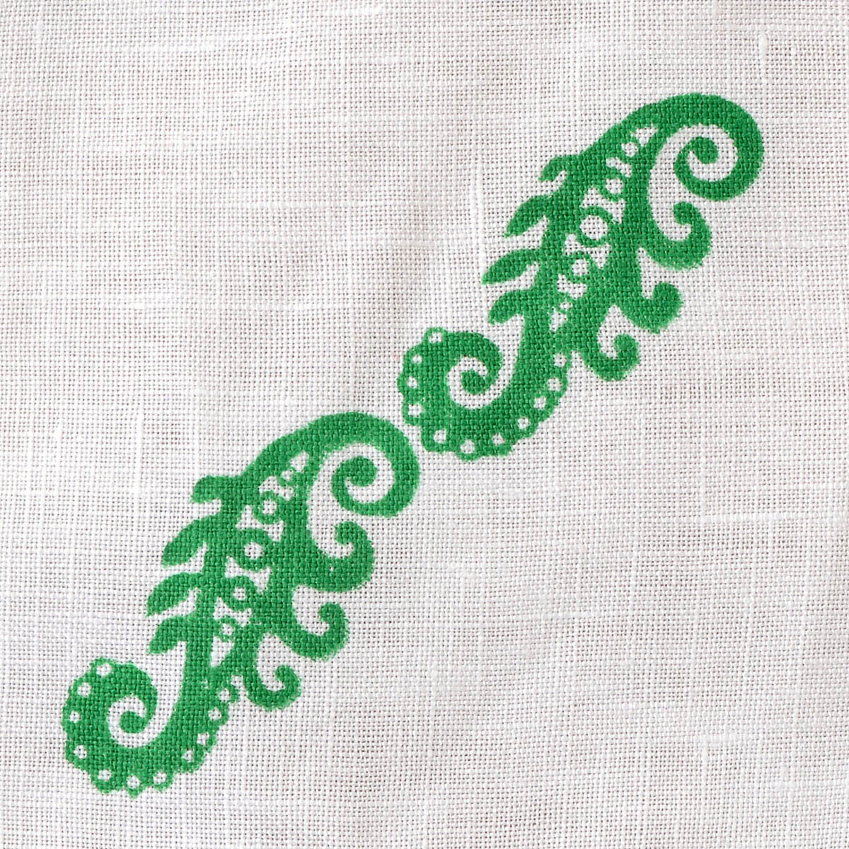 Fabric Creations™ Block Printing Stamps - Border - Baroque Scroll