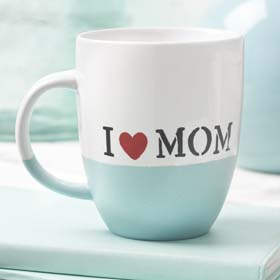Decorated Mug for Mother's Day