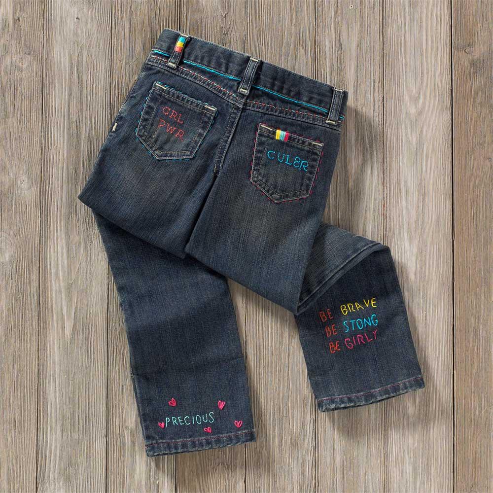 Bucilla ® Fashion Embroidery Kit - ABC's - 47801E