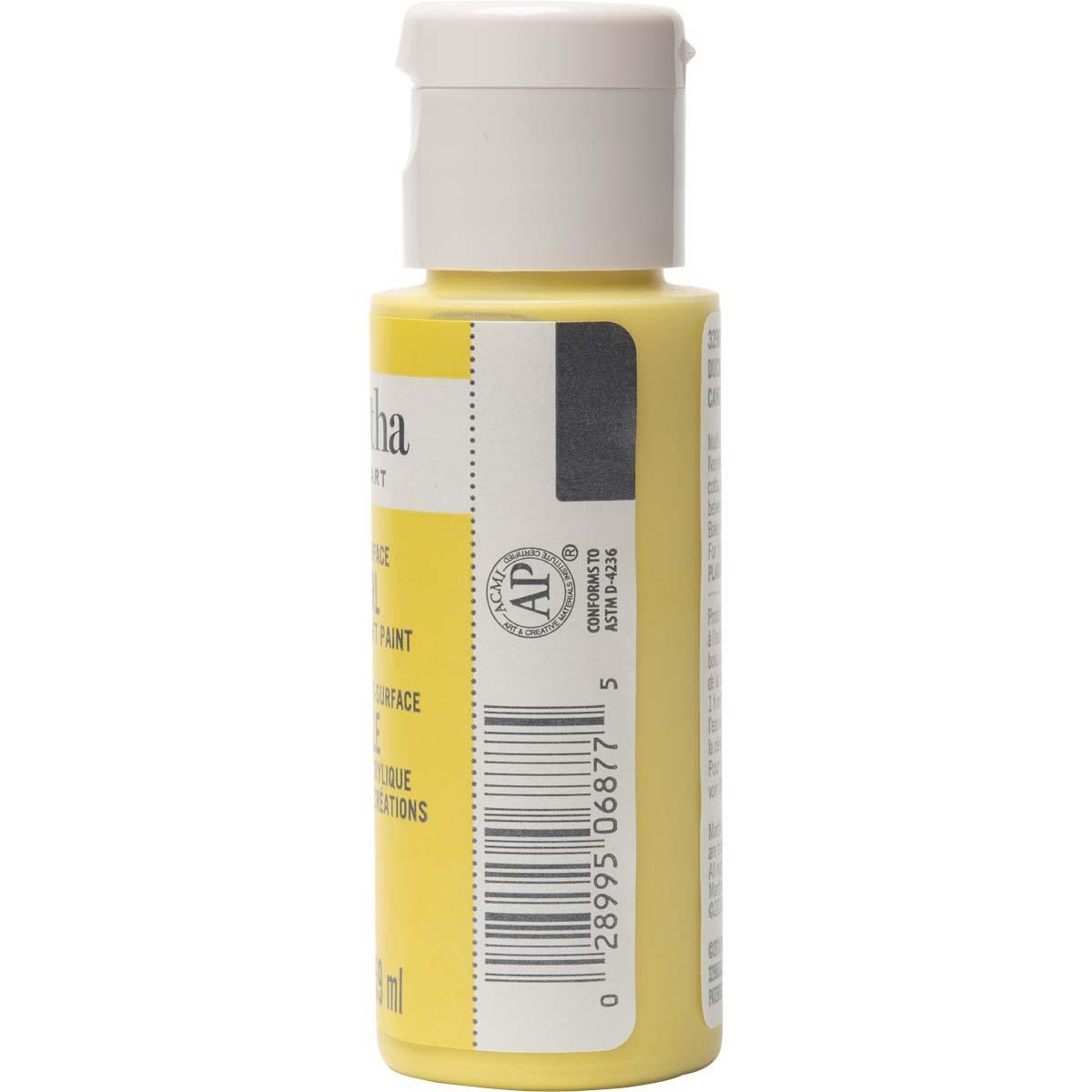 Martha Stewart ® Multi-Surface Pearl Acrylic Craft Paint - Duckling, 2 oz. - 32965CA