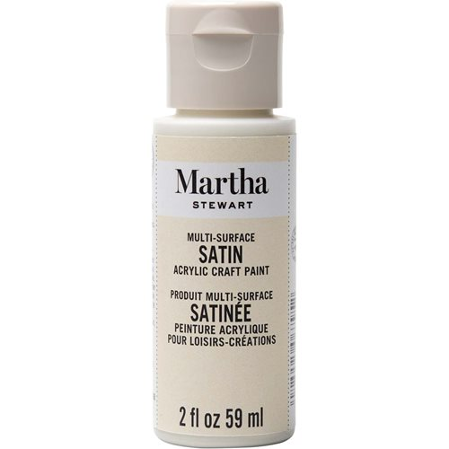 Martha Stewart ® Multi-Surface Satin Acrylic Craft Paint - Summer Linen, 2 oz. - 32075CA