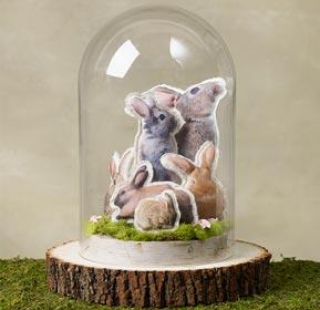 Bunnies Cloche
