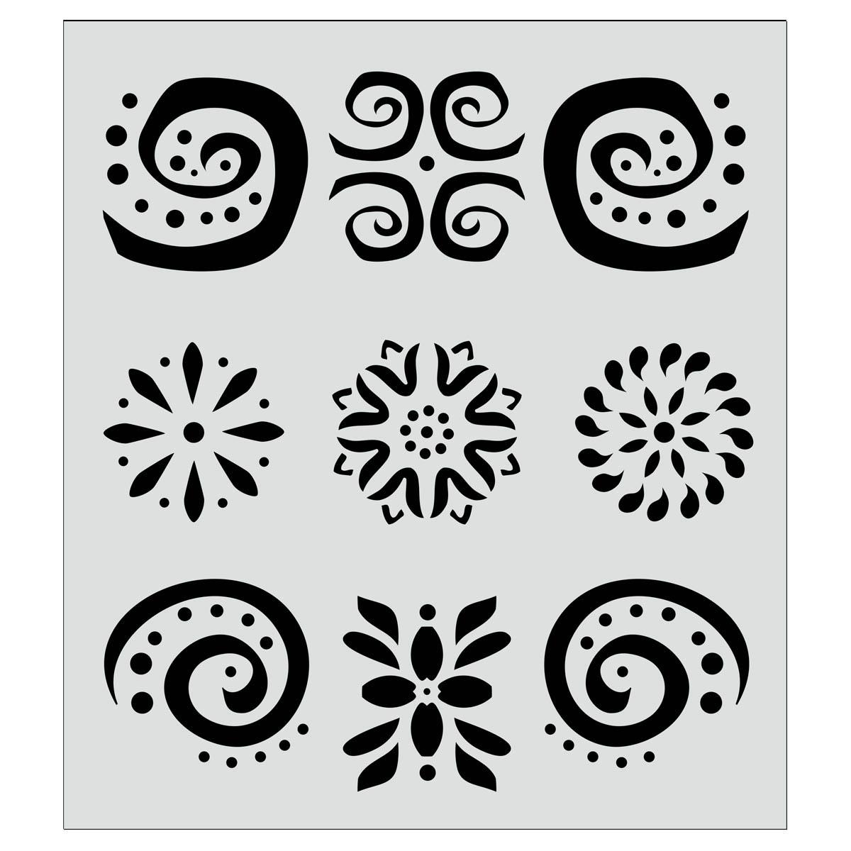 FolkArt ® Painting Stencils - Carribbean