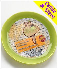 Adorned Plate