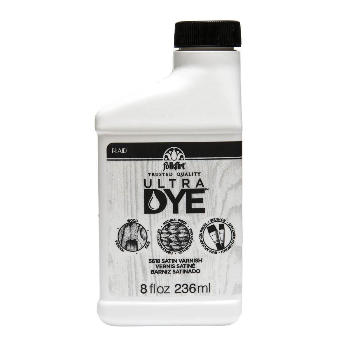 FolkArt ® Ultra Dye™ Satin Varnish, 8 oz.