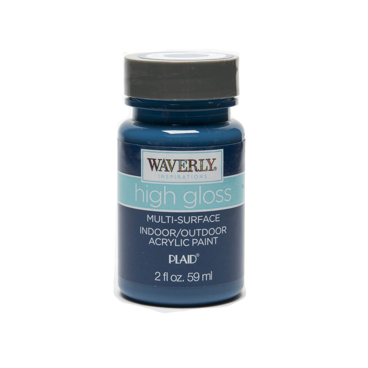 Waverly ® Inspirations High Gloss Multi-Surface Acrylic Paint - Ocean, 2 oz. - 60943E