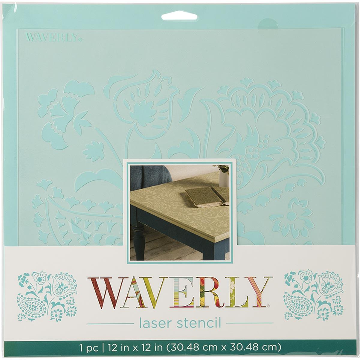 Waverly ® Laser Stencils - Siren Song, 12