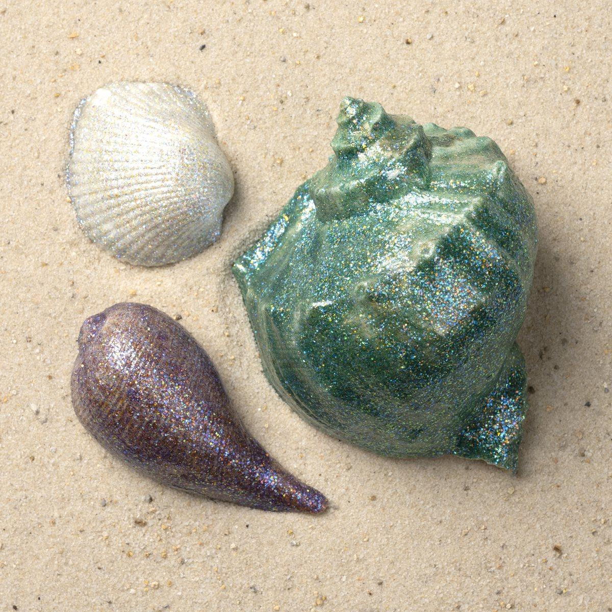 FolkArt Glitterific Fine Seashells