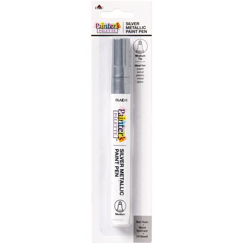 Plaid ® Painter's Palette™ Metallic Paint Pen - Silver