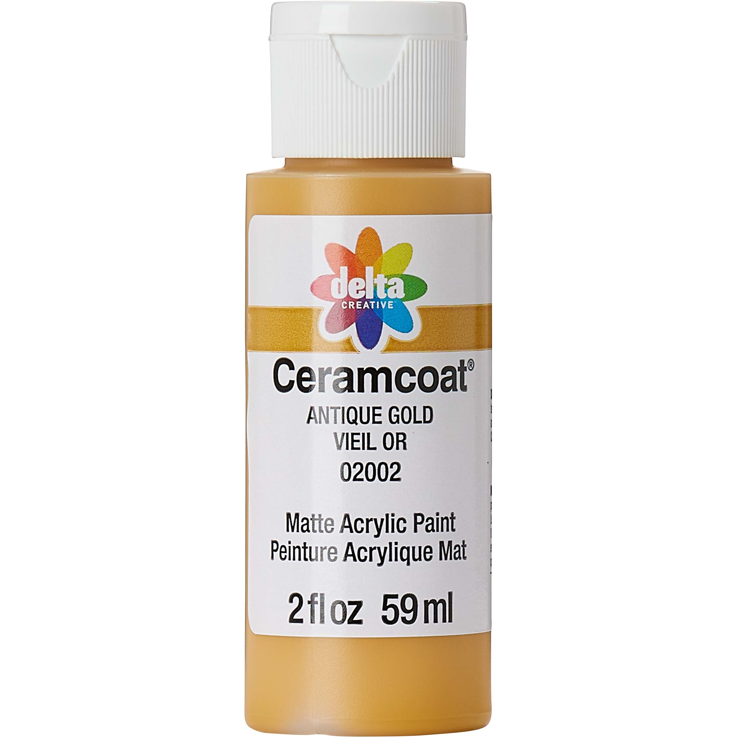Delta Ceramcoat ® Acrylic Paint - Antique Gold, 2 oz.
