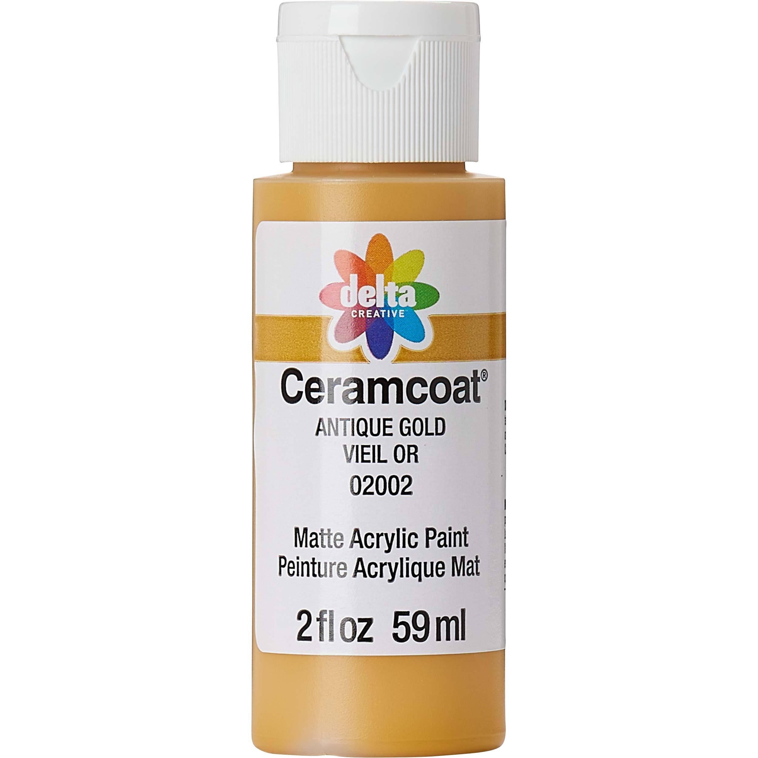 Delta Ceramcoat ® Acrylic Paint - Antique Gold, 2 oz.