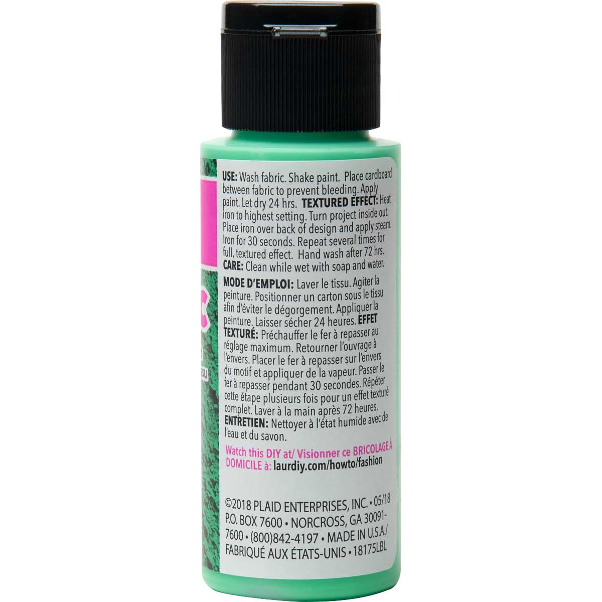 LaurDIY ® Texturific™ Fabric Paint - Everest, 2 oz.