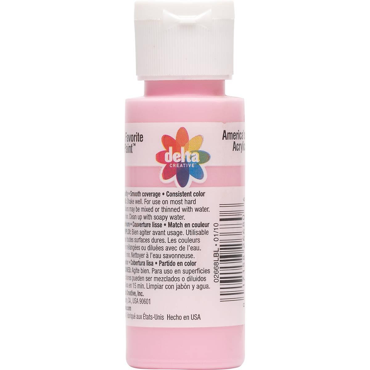 Delta Ceramcoat ® Acrylic Paint - Bubble Gum, 2 oz.