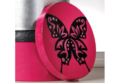 Round Butterfly Box