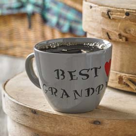 DIY Father's Day Gift - Best Grandpa Mug