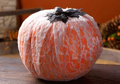 Lacy Neon Pumpkin