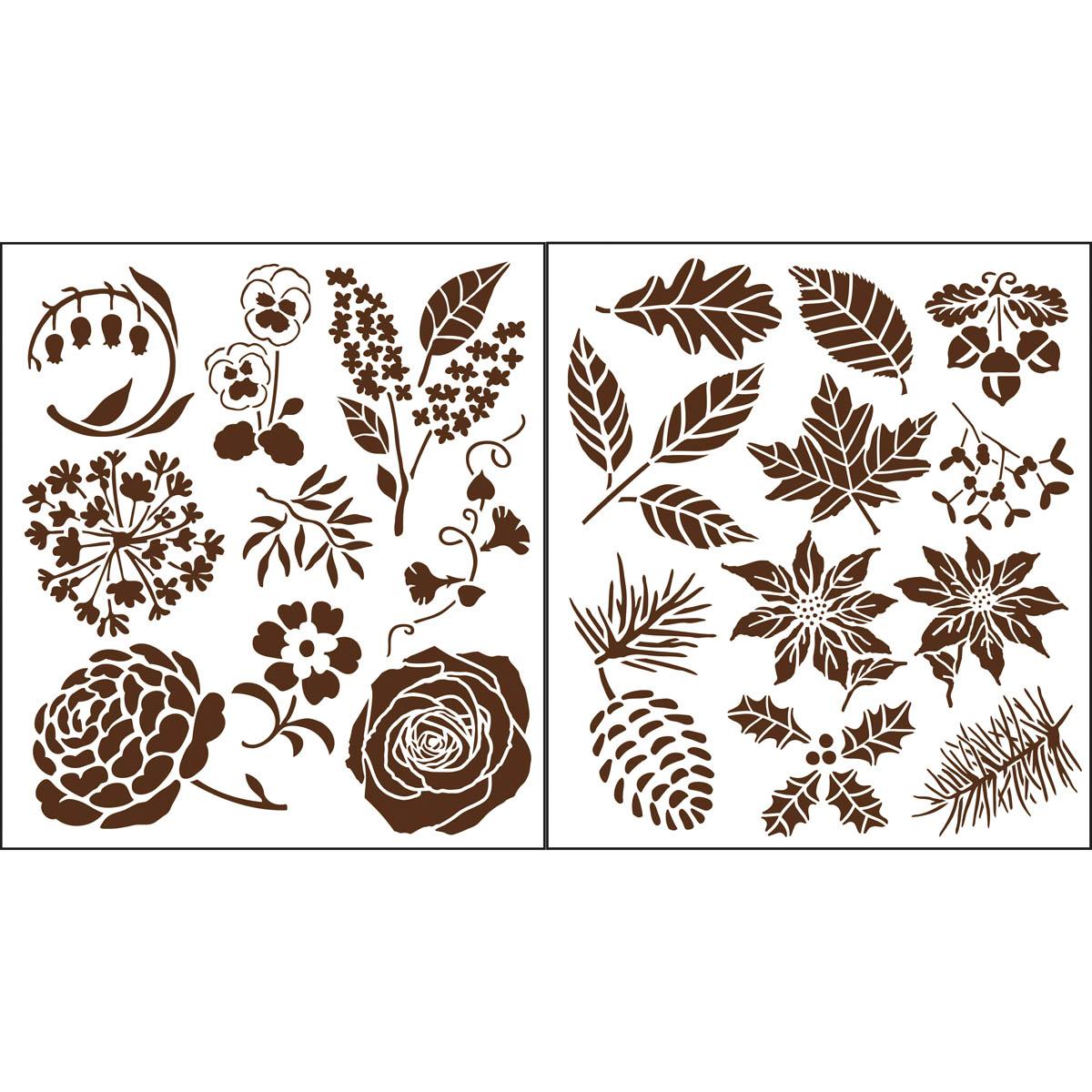 Martha Stewart Crafts ® Four Seasons Laser-Cut Stencils