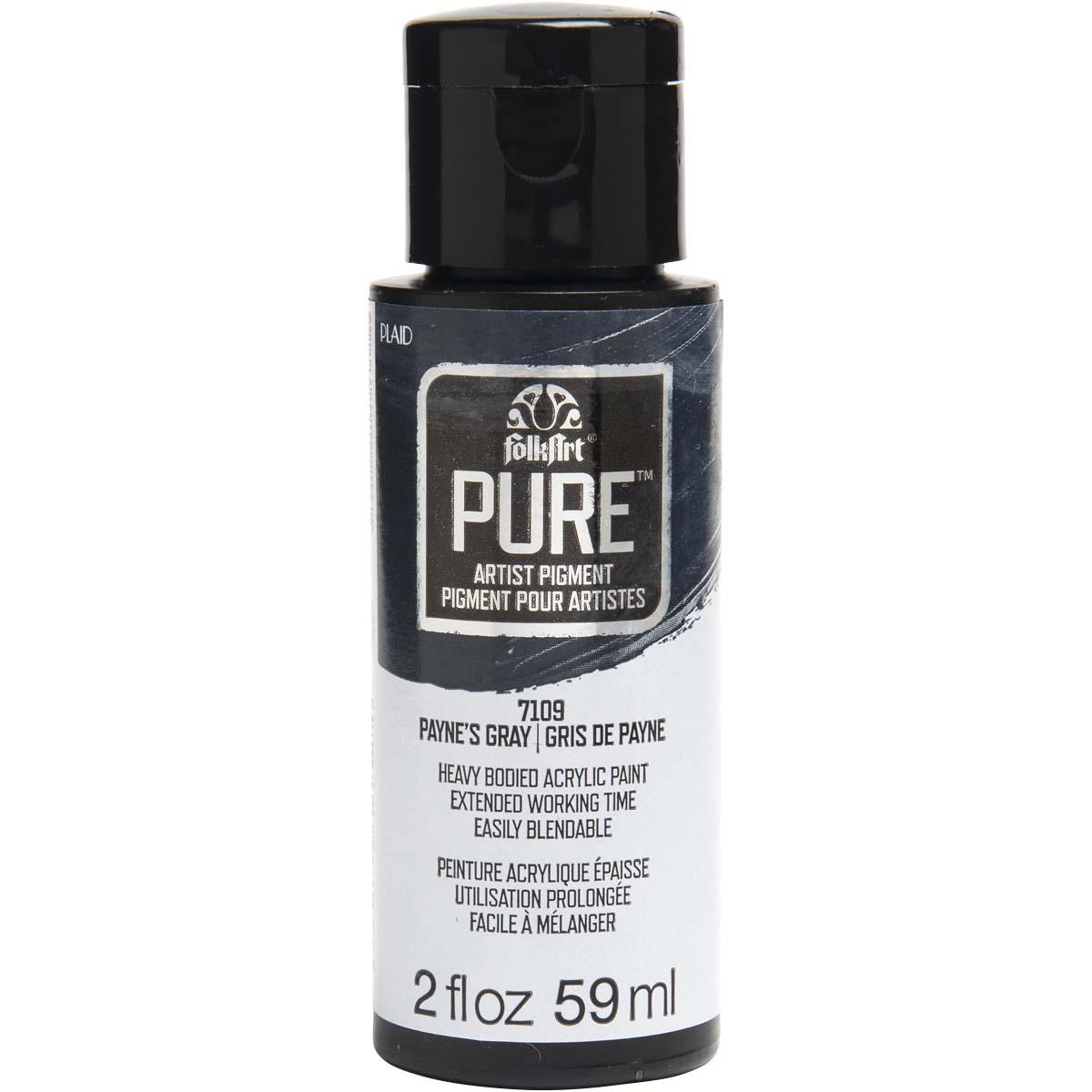 FolkArt ® Pure™ Artist Pigment - Payne's Gray, 2 oz. - 7109