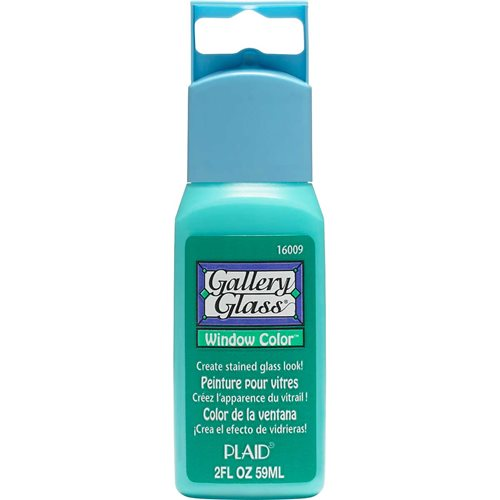 Gallery Glass ® Window Color™ - Emerald Green, 2 oz. - 16009