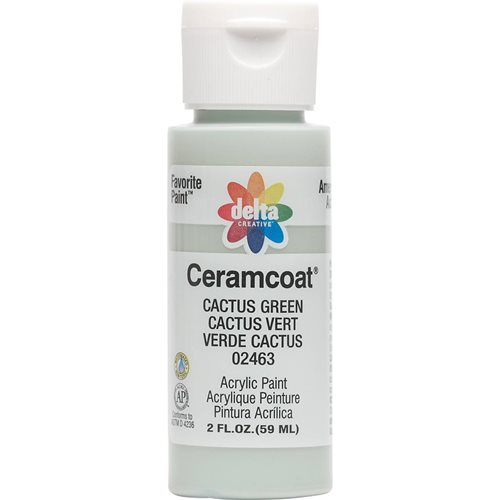 Delta Ceramcoat ® Acrylic Paint - Cactus Green, 2 oz.