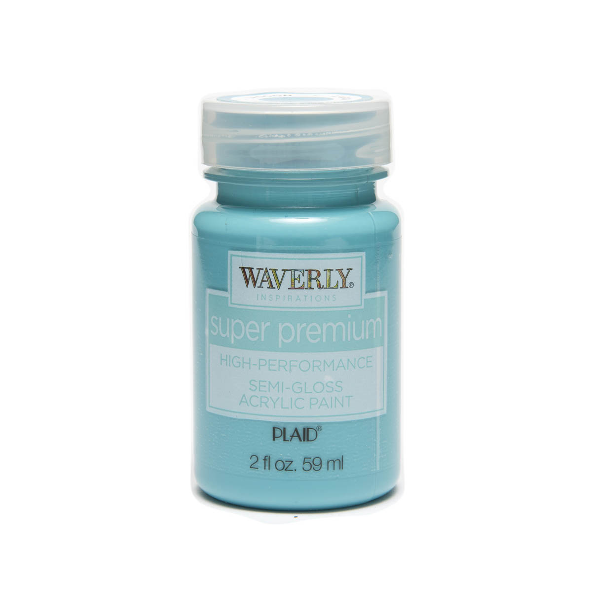 Waverly ® Inspirations Super Premium Semi-Gloss Acrylic Paint - Lagoon, 2 oz.