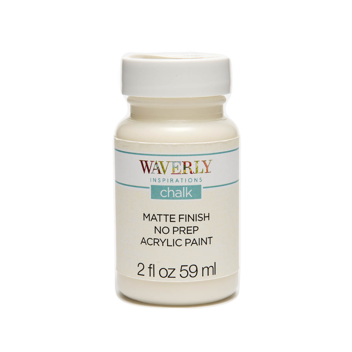 Waverly ® Inspirations Chalk Finish Acrylic Paint - Ivory, 2 oz. - 60738E