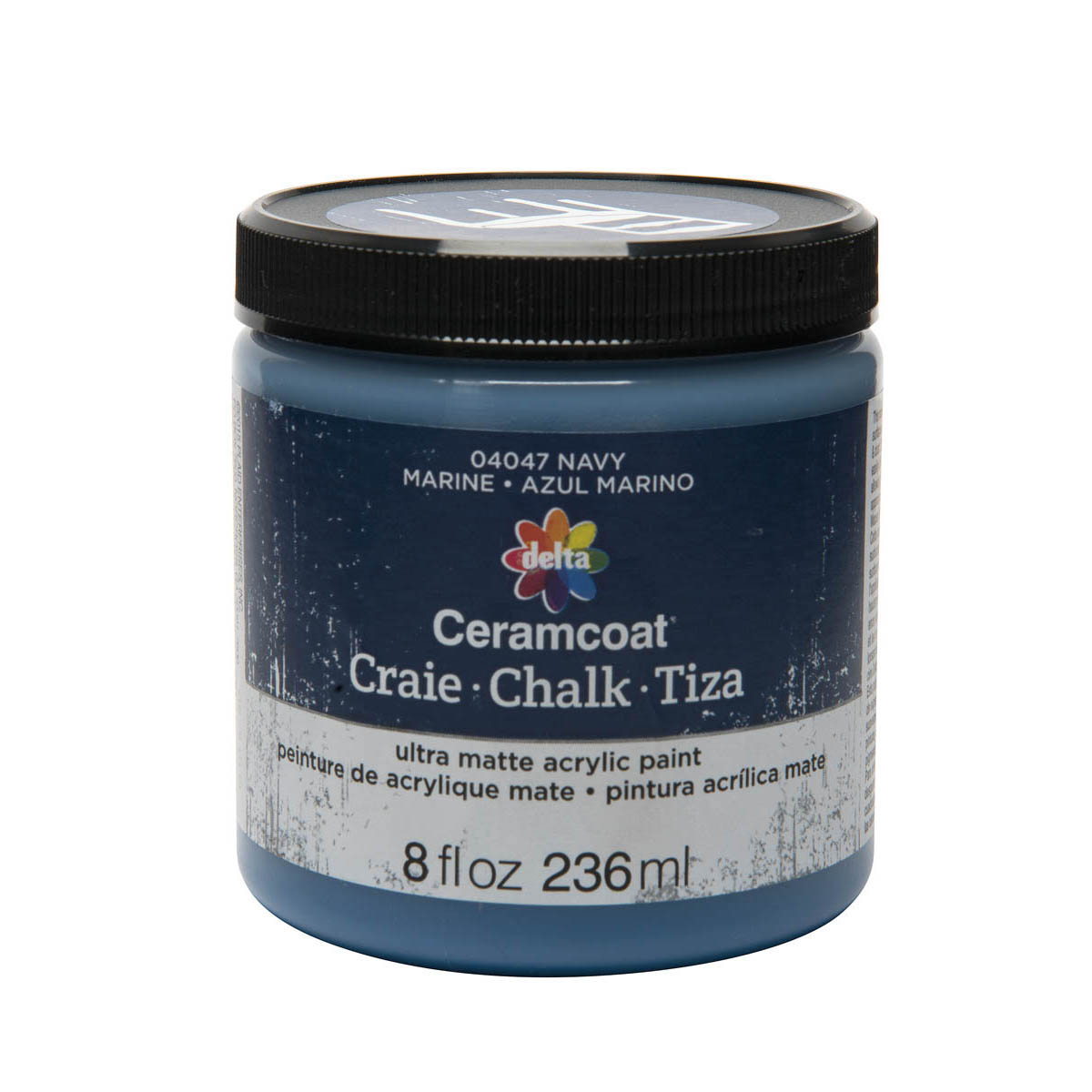 Delta Ceramcoat ® Chalk - Navy, 8 oz.
