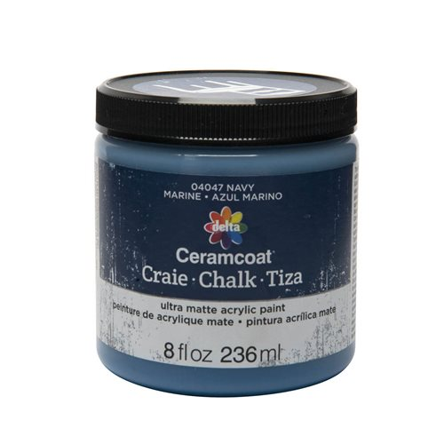 Delta Ceramcoat ® Chalk - Navy, 8 oz.