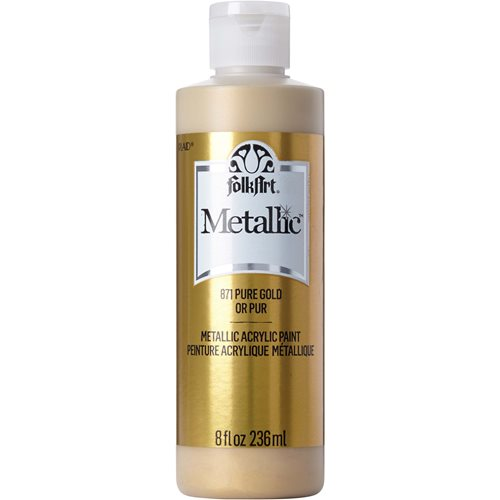 FolkArt ® Metallics - Pure Gold, 8 oz. - 871