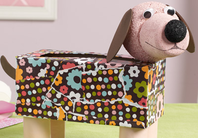 Mod Podge Kid's Tissue Dog