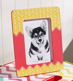 DIY Kid's Frame with Mod Podge