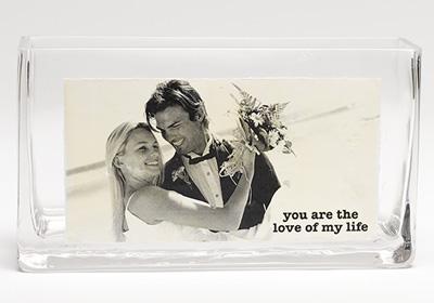 The Love Of My Life Wedding Vase