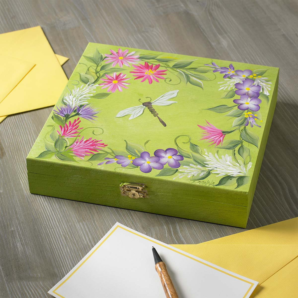 Wildflower Cigar Box
