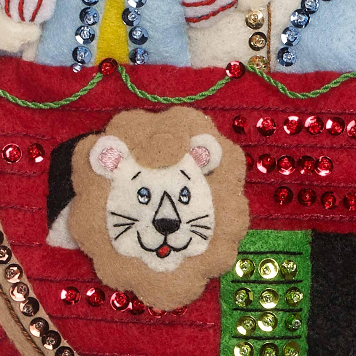 Bucilla ® Seasonal - Felt - Stocking Kits - Noah's Ark - 86976E