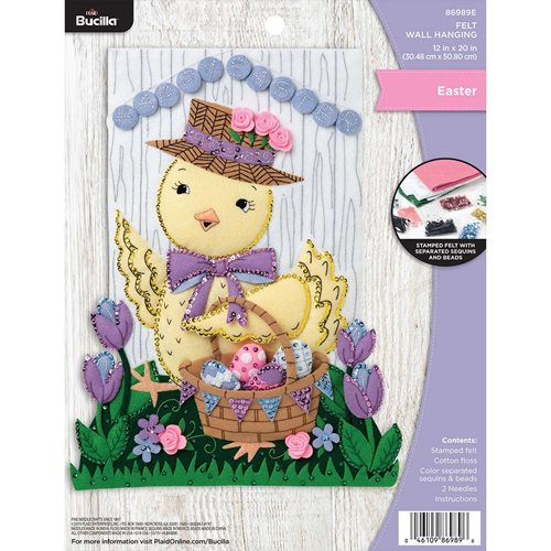 Bucilla ® Seasonal - Felt - Home Decor - Door/Wall Hanging Kits - Easter