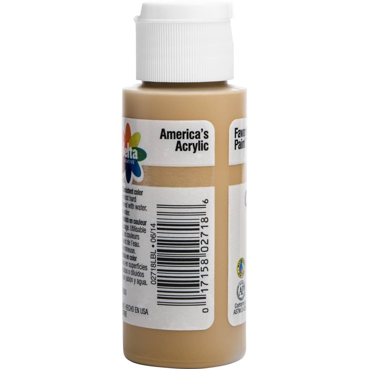 Delta Ceramcoat ® Acrylic Paint - Khaki, 2 oz.