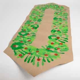 DIY Christmas Table Runner