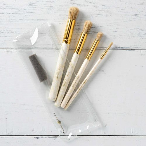 Anna Griffin ® Stencil Brush Set, 5 piece