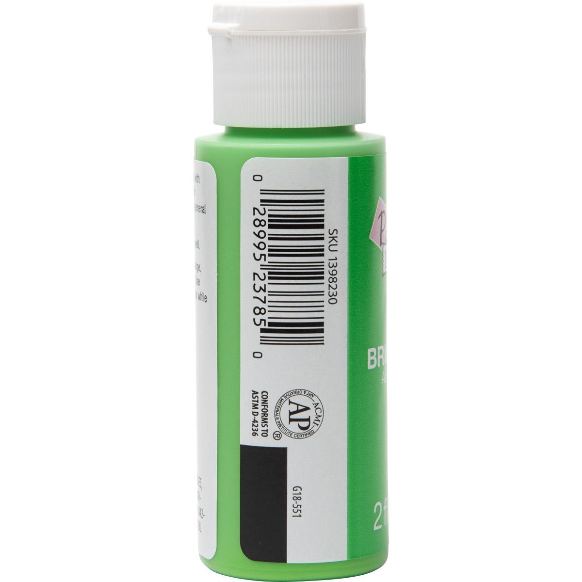Plaid ® Painter's Palette™ Acrylic Paint - Bright Green, 2 oz. - 23785