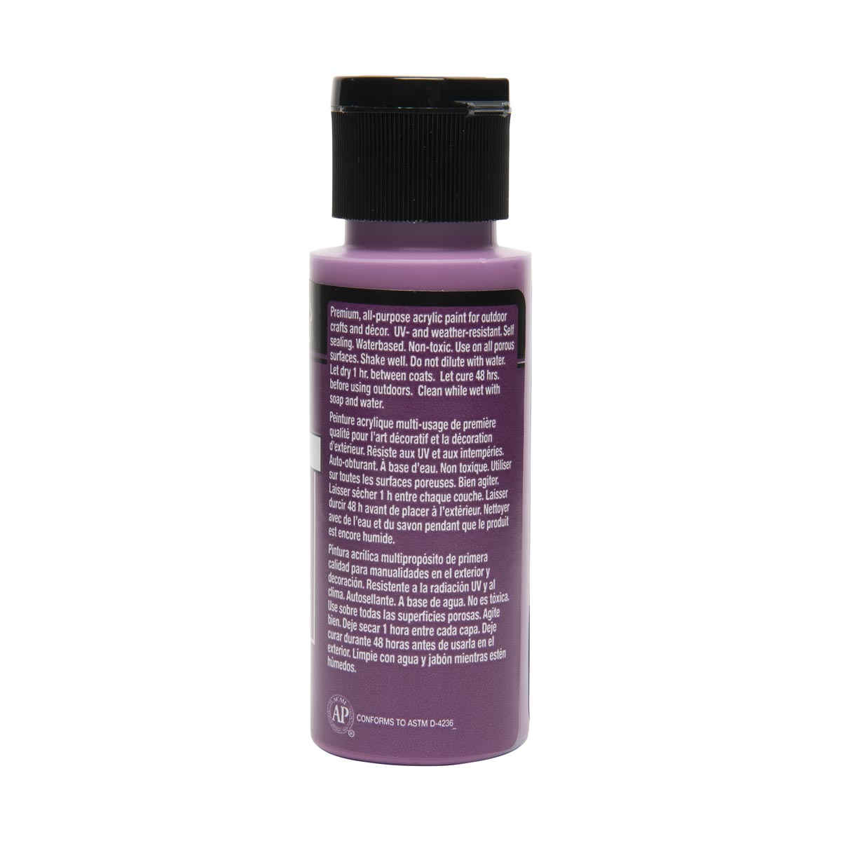 FolkArt ® Outdoor™ Acrylic Colors - Light Plum, 2 oz.