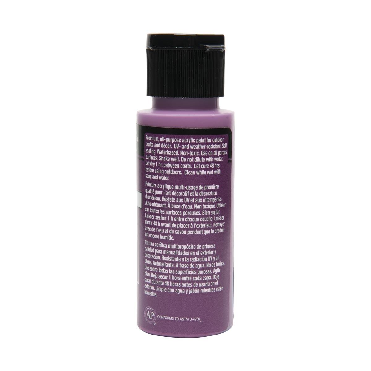FolkArt ® Outdoor™ Acrylic Colors - Light Plum, 2 oz. - 6490