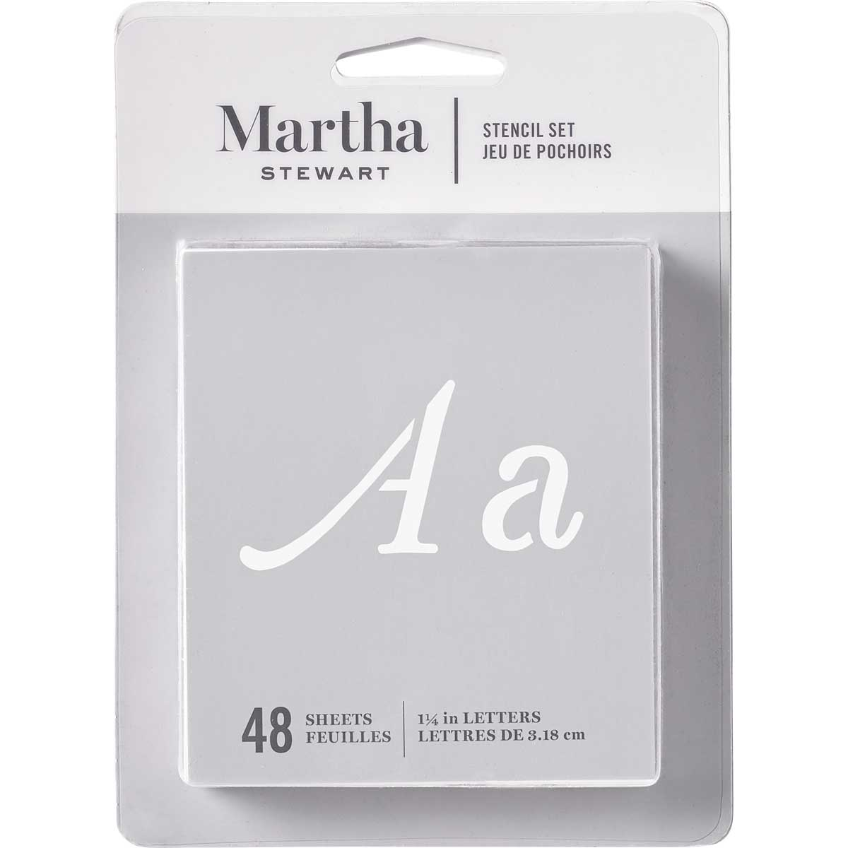 Martha Stewart® Monogram Flourish Alphabet Stencil Set 36pc