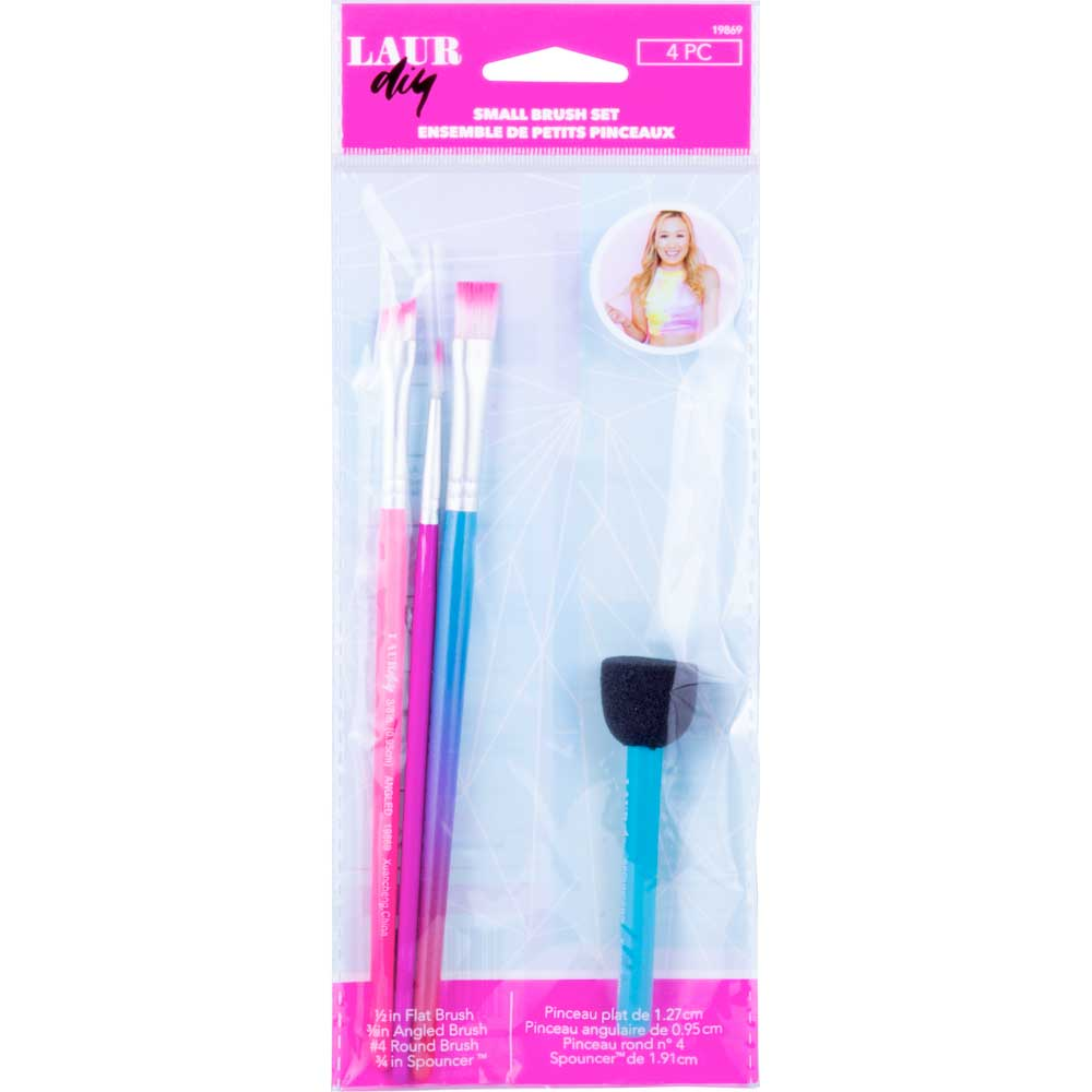 LAURDIY BRUSH SET - SMALL 4 PC.