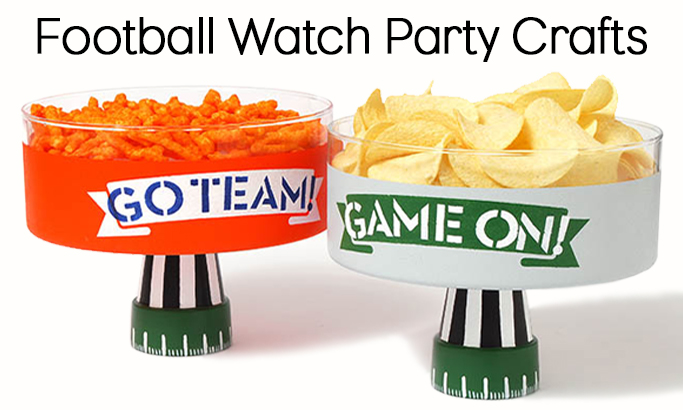 Football Watch Party Crafts