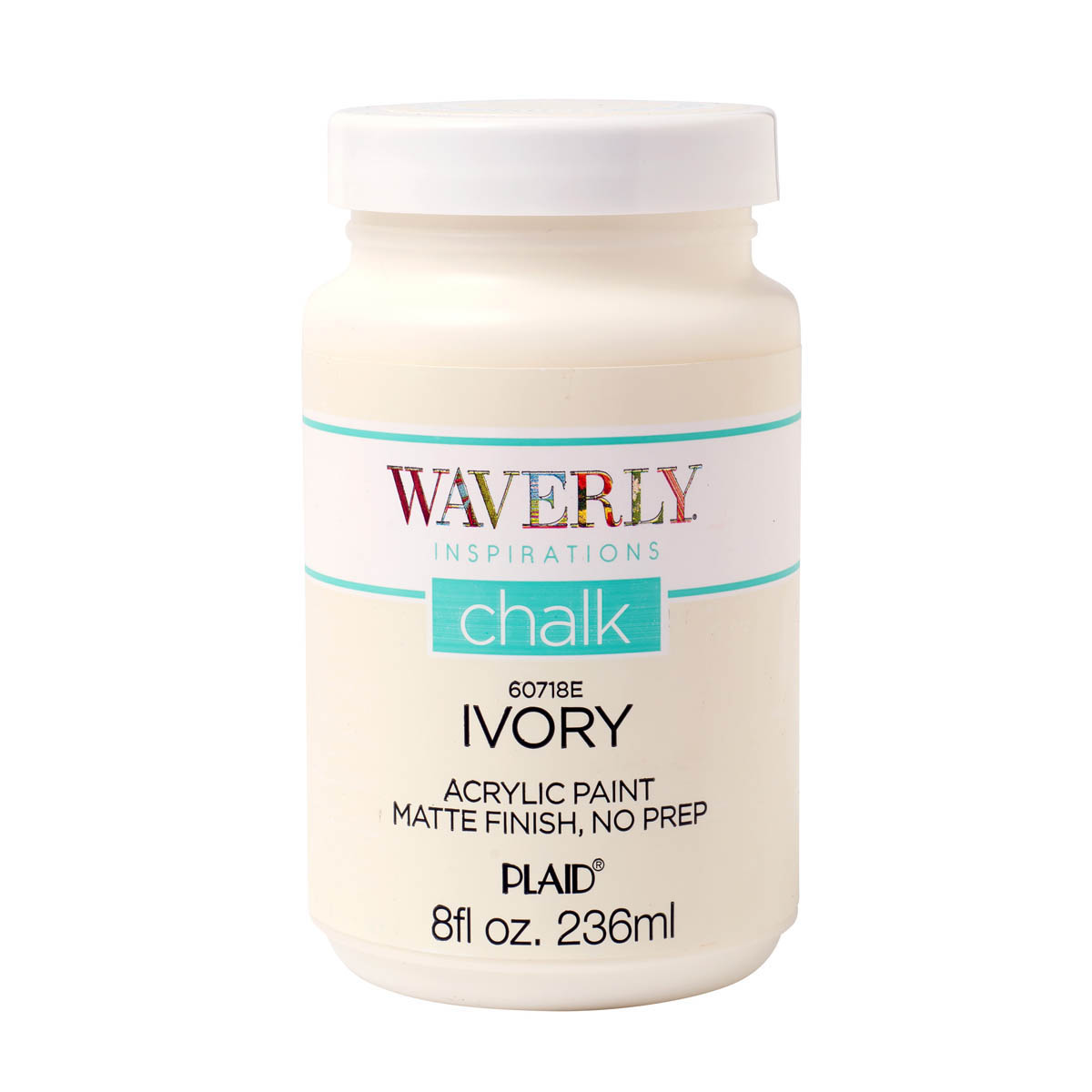 Waverly ® Inspirations Chalk Acrylic Paint - Ivory, 8 oz. - 60718E