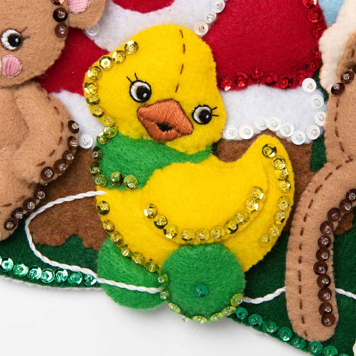 Bucilla ® Seasonal - Felt - Stocking Kits - Toys From Santa - 89229E