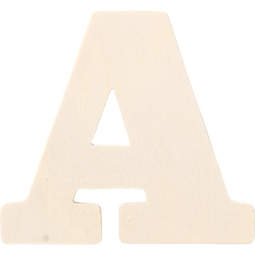 Plaid ® Painter's Palette™ Wood Letter - A. 4 inch - 23790