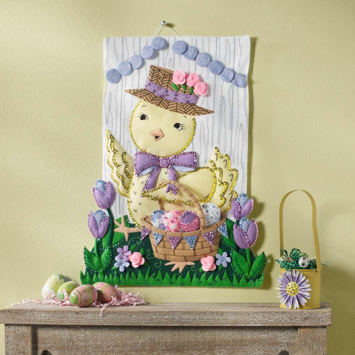 Bucilla ® Seasonal - Felt - Home Decor - Easter Wall Hanging - 86989E
