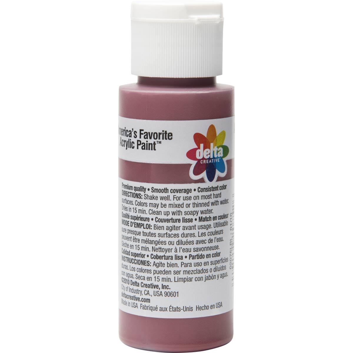 Delta Ceramcoat ® Acrylic Paint - Maroon, 2 oz. - 020750202W