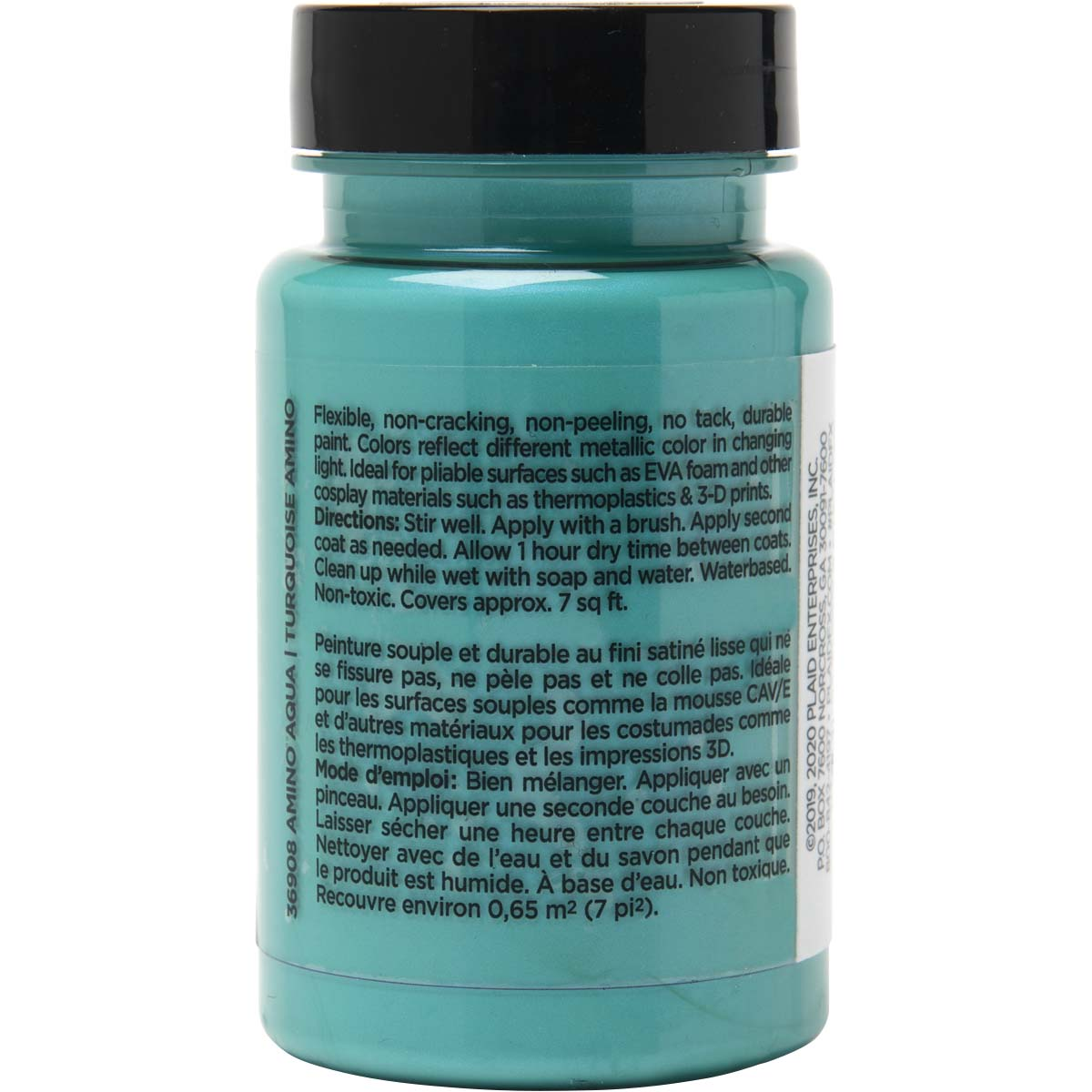 PlaidFX Mutant Shift Flexible Acrylic Paint - Amino Aqua, 3 oz. - 36908